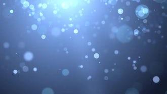 Light Blue Particles: Motion Graphics