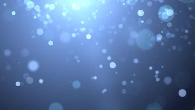 Light Blue Particles: Stock Motion Graphics