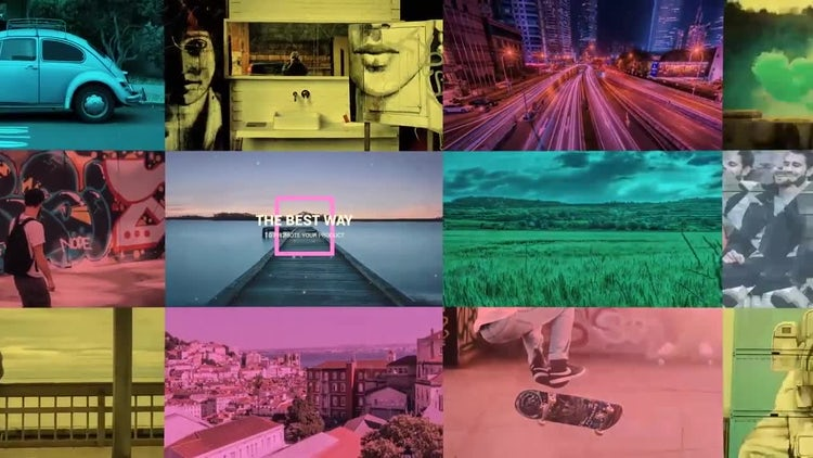 Bright Opener: After Effects Templates