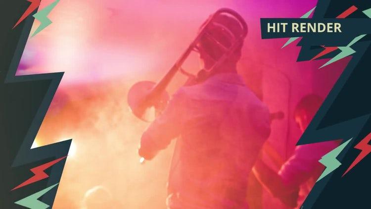 Electric Dynamic Slideshow: Premiere Pro Templates