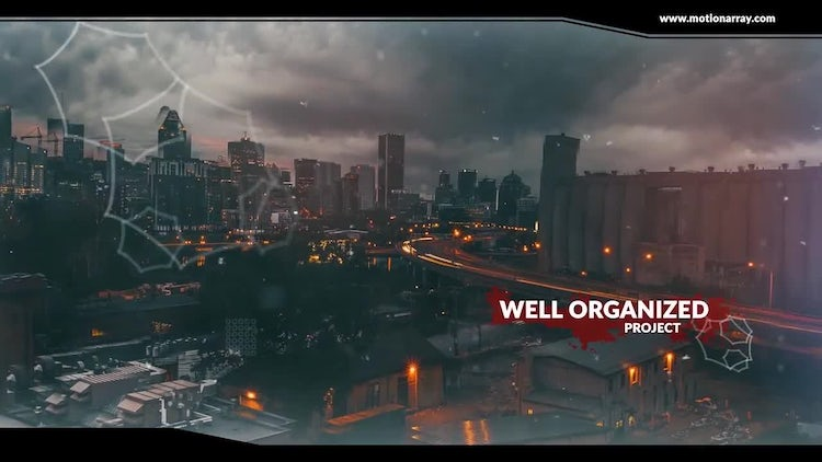 Apocalypse Parallax Slideshow: After Effects Templates