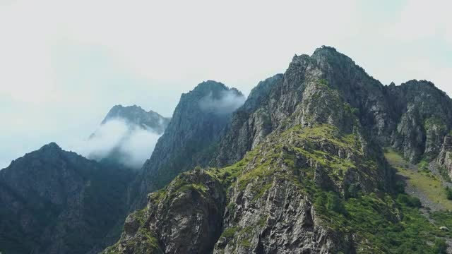 Mountain And Clouds: Stock Video