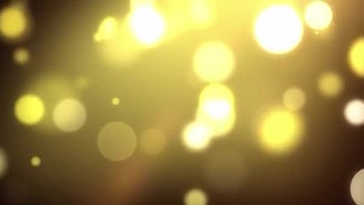 Falling Golden Particles: Motion Graphics