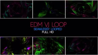 EDM VJ Loop: Motion Graphics