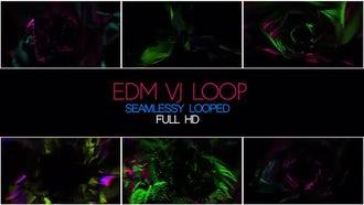 EDM VJ Loop: Motion Graphics