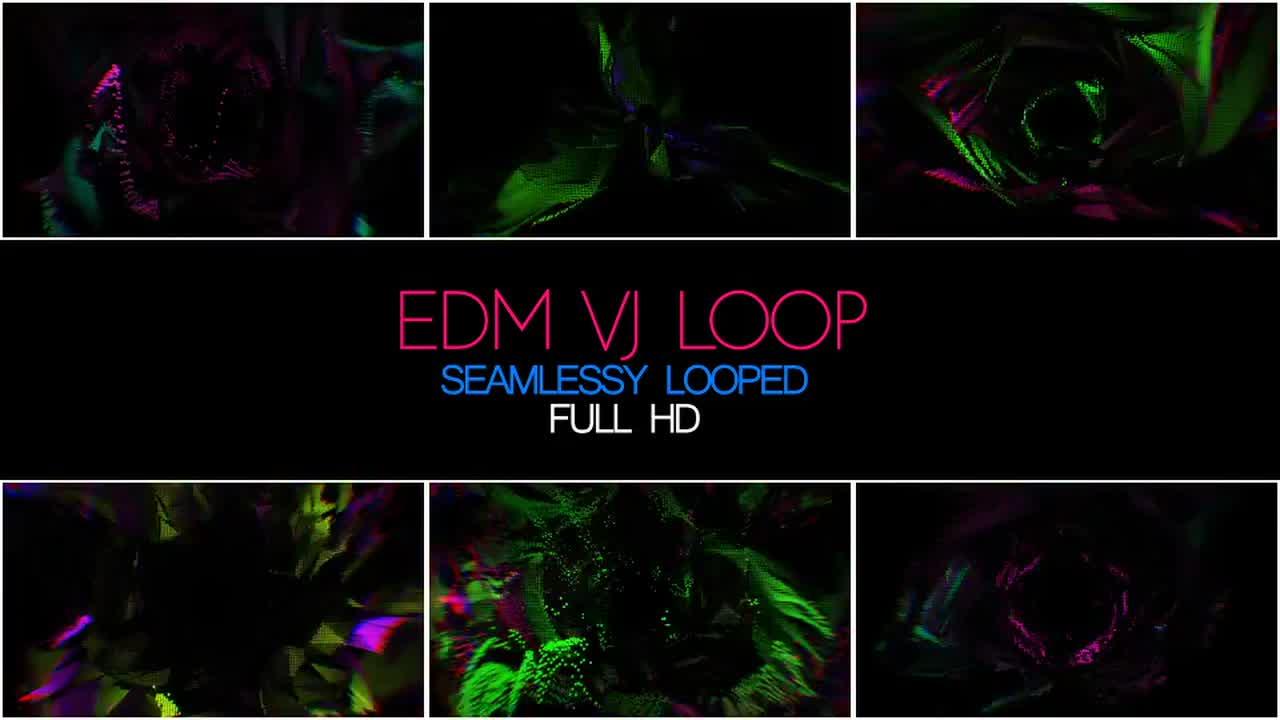 EDM VJ Loop - Stock Motion Graphics | Motion Array