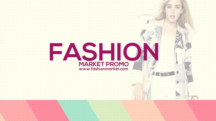 Fashion Market Promo: After Effects Templates