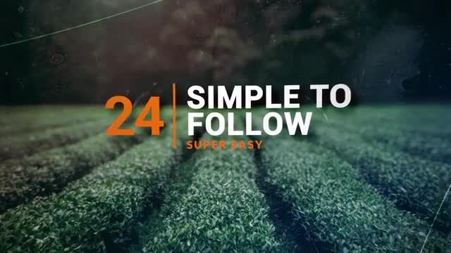 3D Focus Slideshow: After Effects Templates