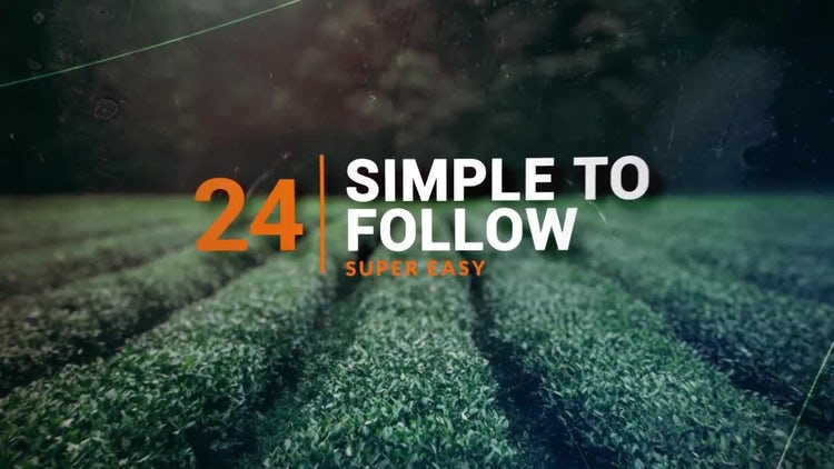 3D Focus Slideshow: After Effects Templates