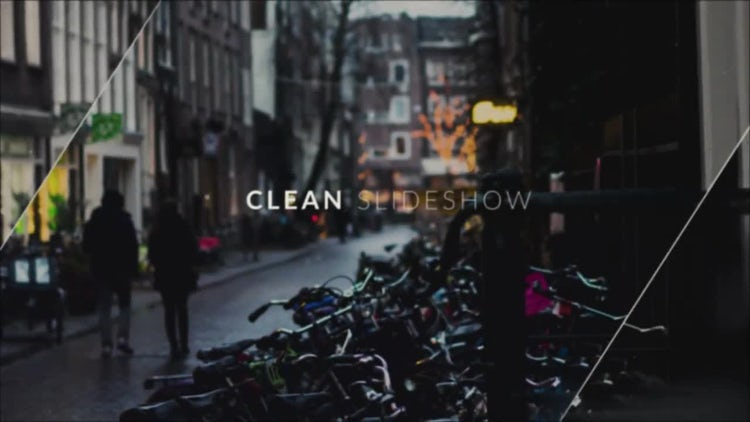 Clean Slideshow: Premiere Pro Templates