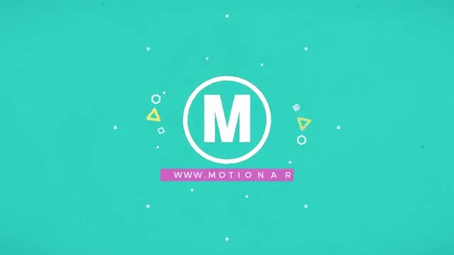 Free Retro Wave Intro Flat Design - After Effects Templates | Motion