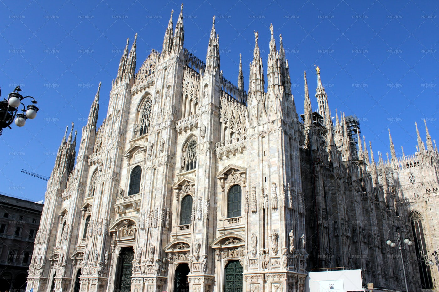 Cathedral Of Milan, Italy: Stock Photos