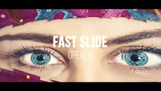 Fast Slide Opener: After Effects Templates