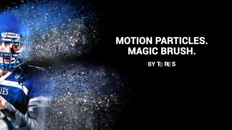 Motion Particle - Magic Brush: After Effects Templates