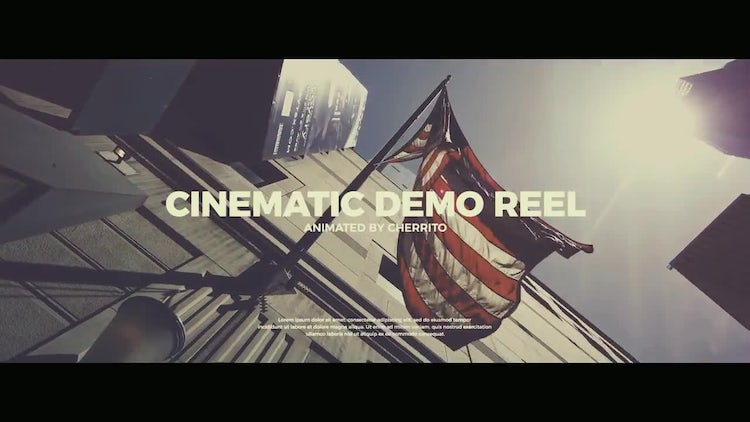 Cinematic Demo Reel: Premiere Pro Templates