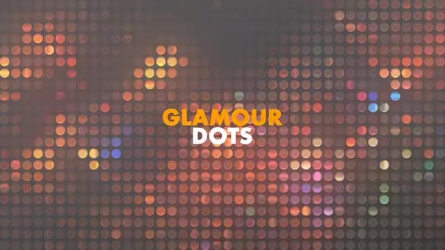 Glamour Dots: Stock Motion Graphics