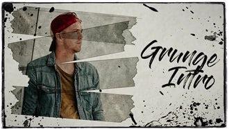 Grunge Intro: Premiere Pro Templates