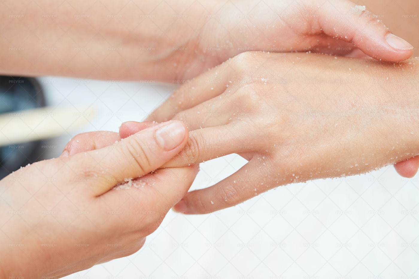 Massage At Wellness Club: Stock Photos
