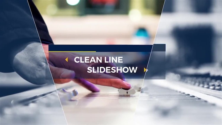Technical Clean Line Slideshow: After Effects Templates