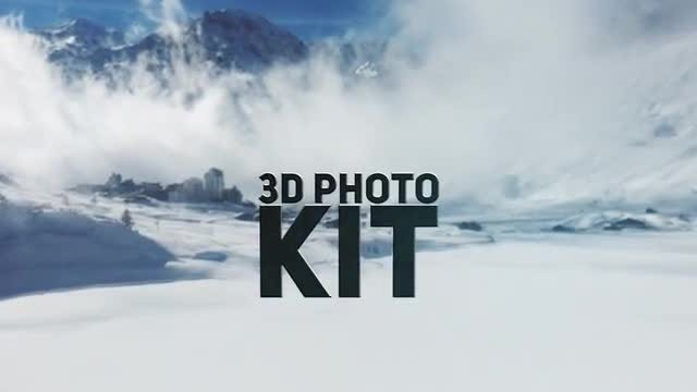 3D Photo Kit: After Effects Templates