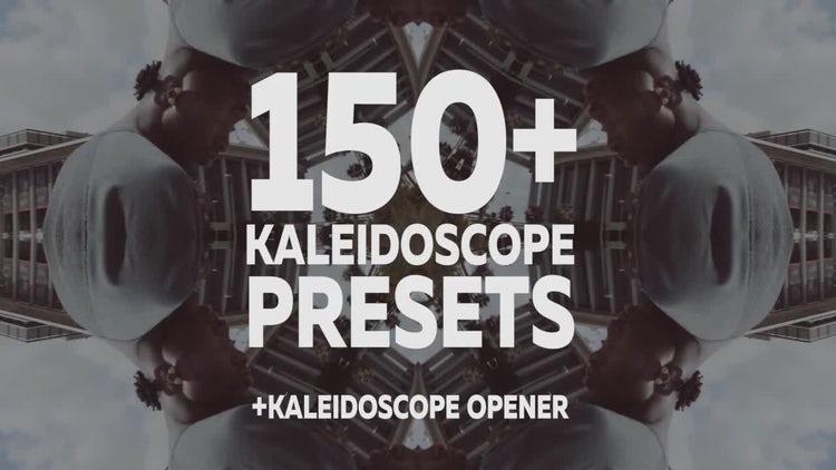 Kaleidoscope Presets: Premiere Pro Presets