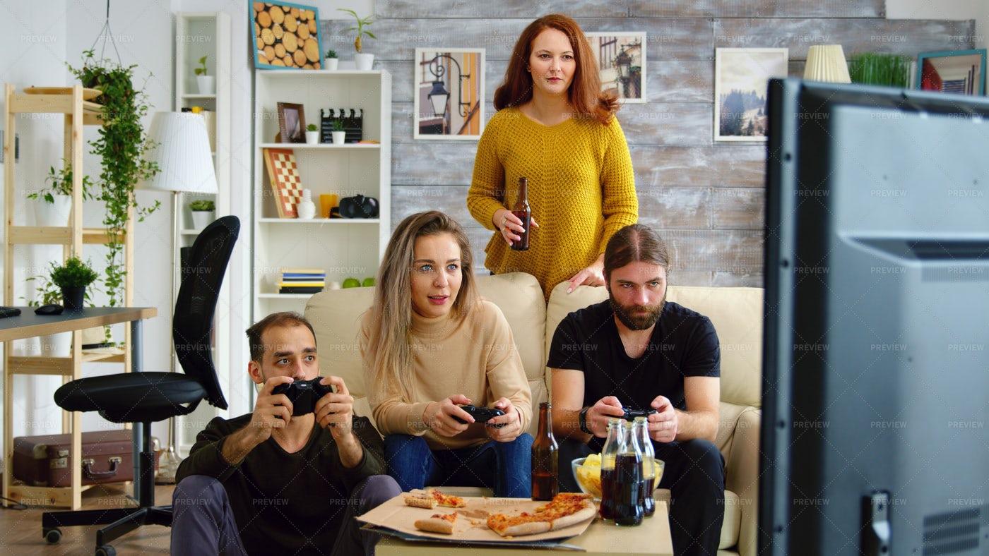 Gaming Party: Stock Photos