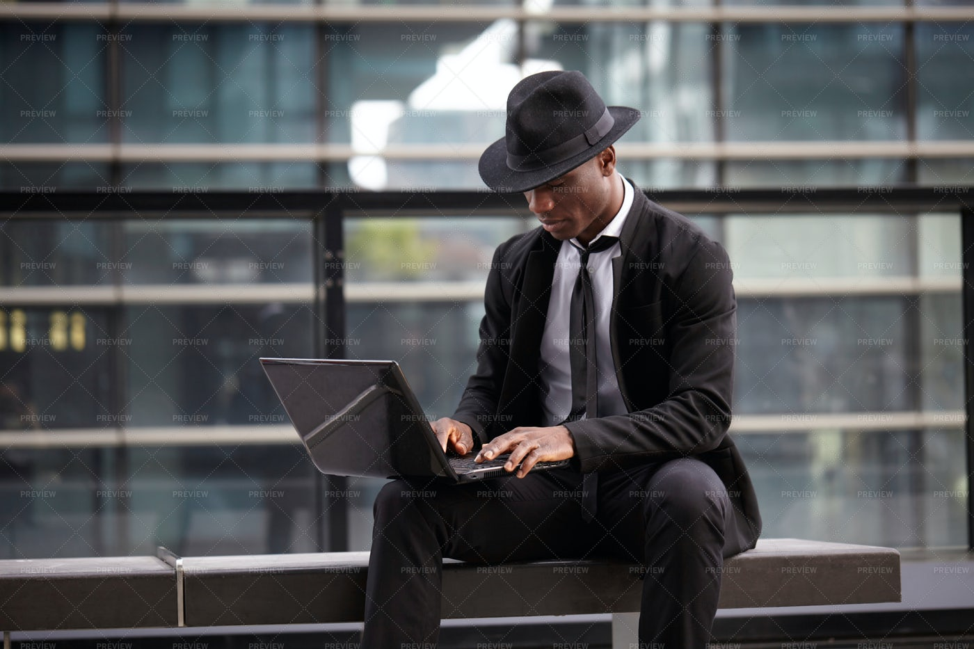 Working Outside The Office: Stock Photos