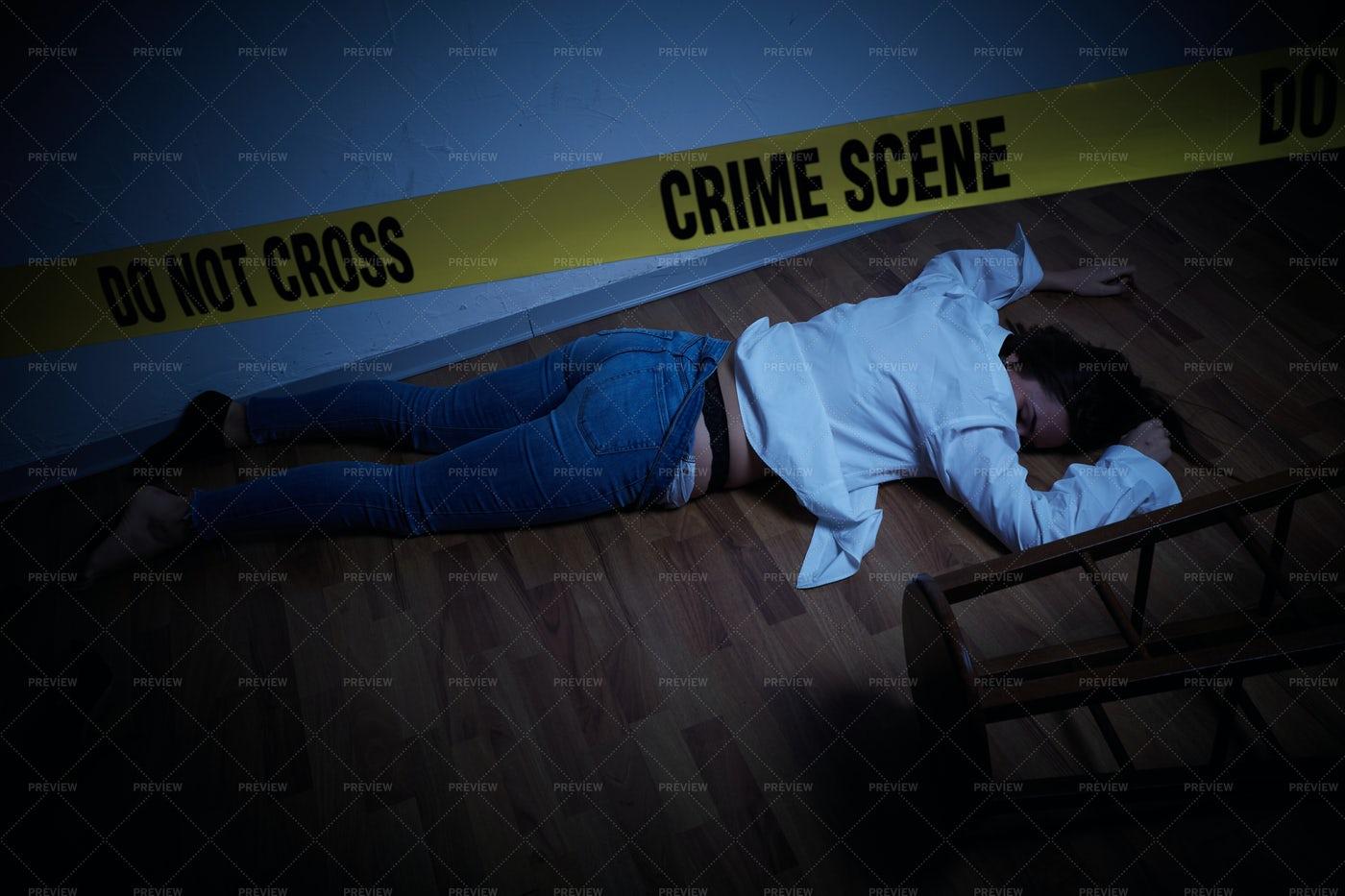 Woman Assassinated: Stock Photos