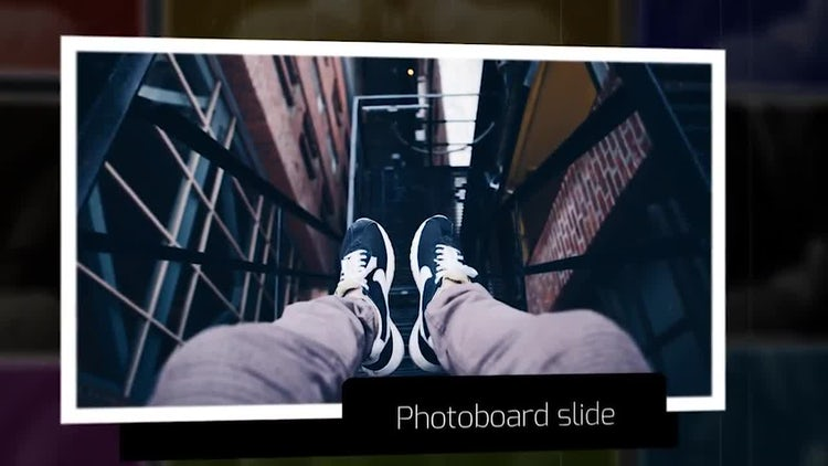 Photoboard Slideshow: After Effects Templates