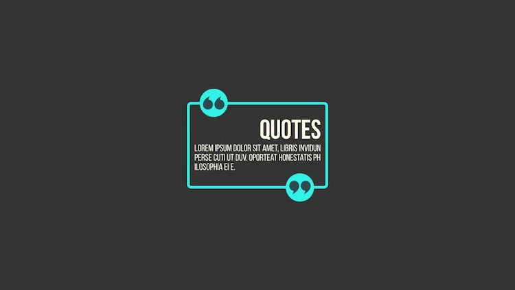 Quote Titles: After Effects Templates