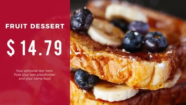 Modern Restaurant Promo: Premiere Pro Templates