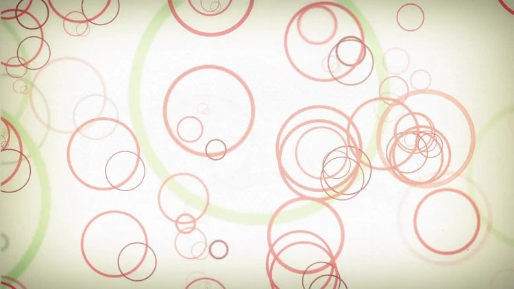 Circles Background: Motion Graphics