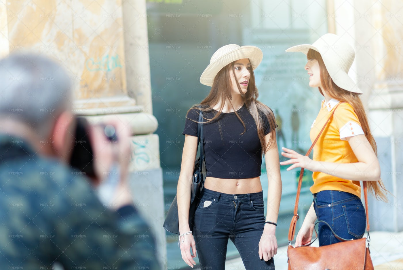 Taking Photos Of Women: Stock Photos