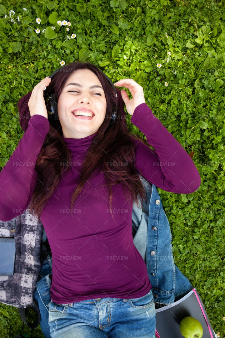 Music On The Grass: Stock Photos