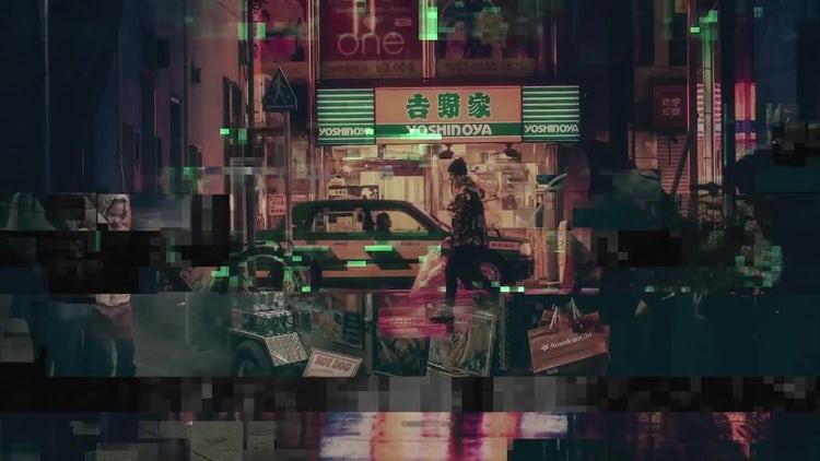 TransGlitch - Block Reveal: Premiere Pro Templates