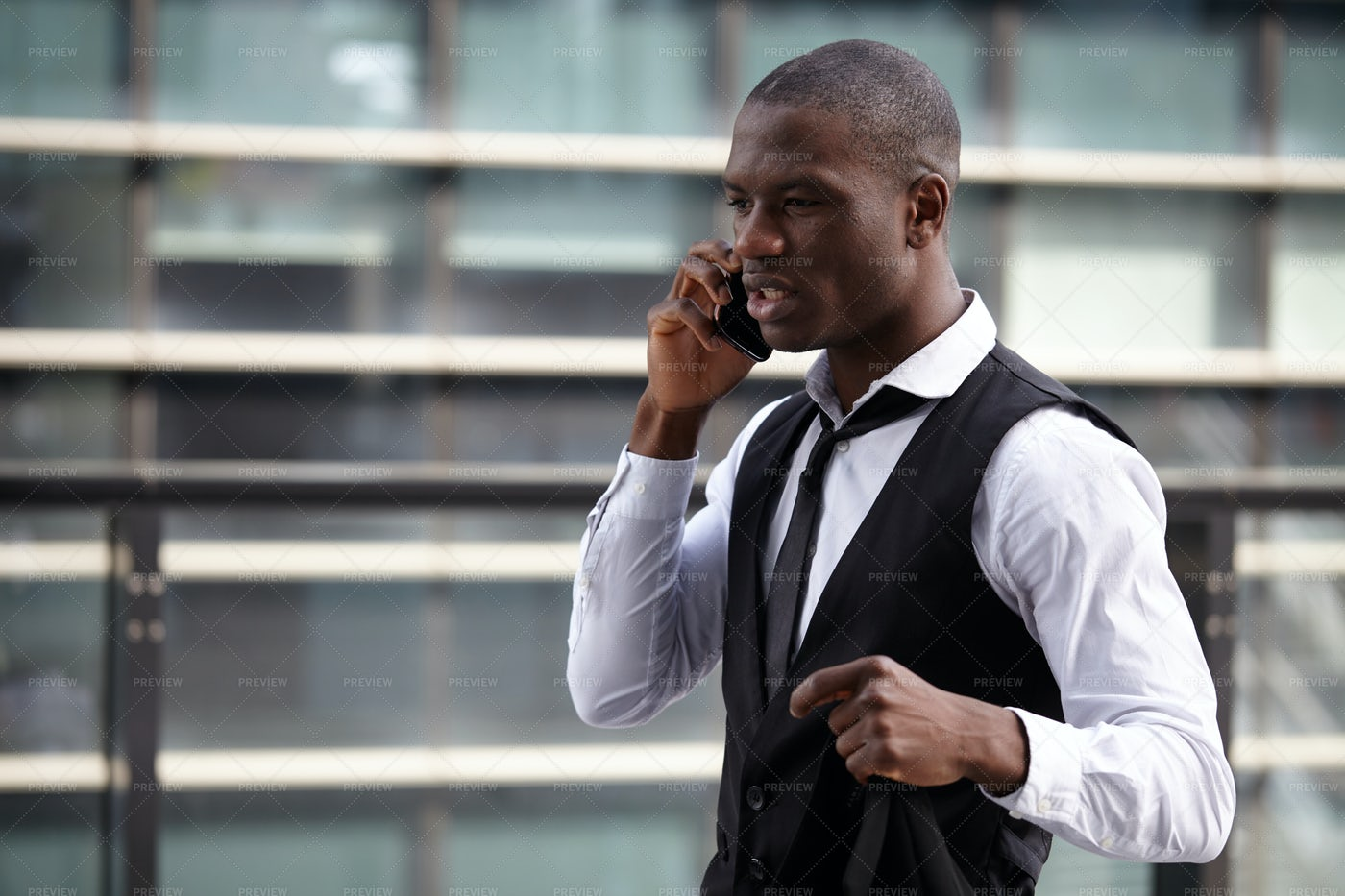 Man Talking On The Phone: Stock Photos