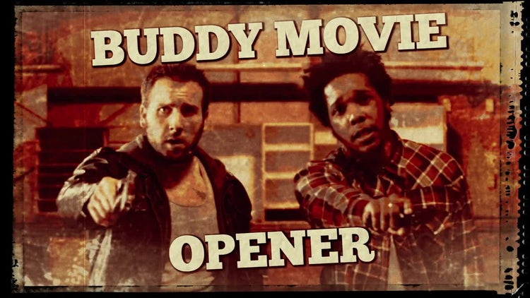 Buddy Movie Opener: Premiere Pro Templates