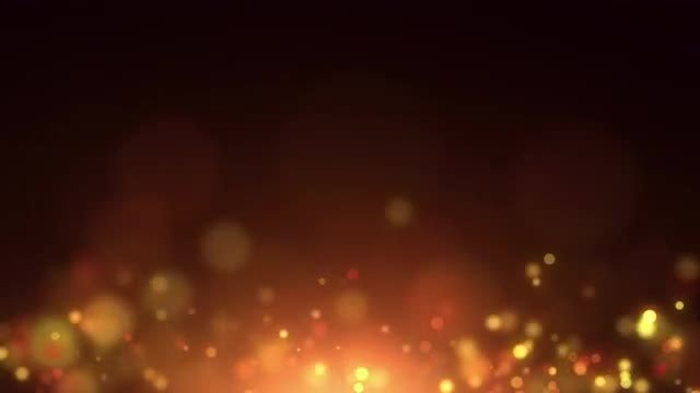 Fiery Particle Horizon : Stock Motion Graphics