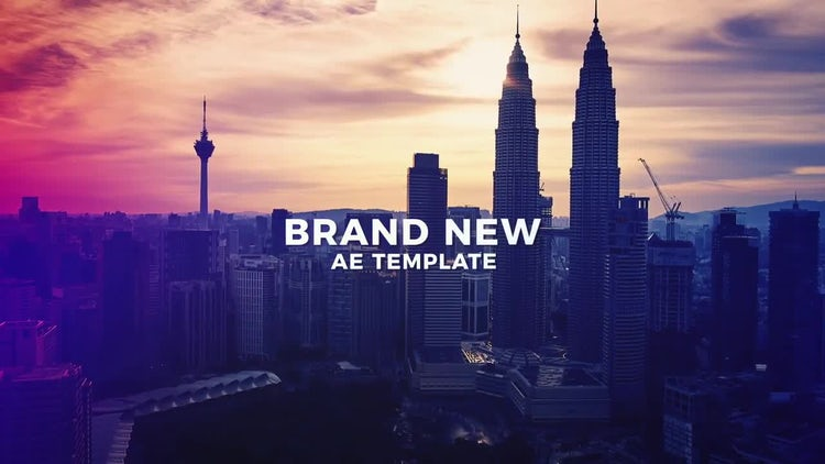 Simple and Minimal Slideshow: After Effects Templates