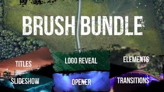 Brush Bundle: Premiere Pro Templates