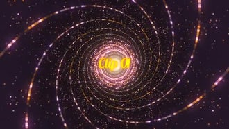 Glitter Tunnel: Motion Graphics