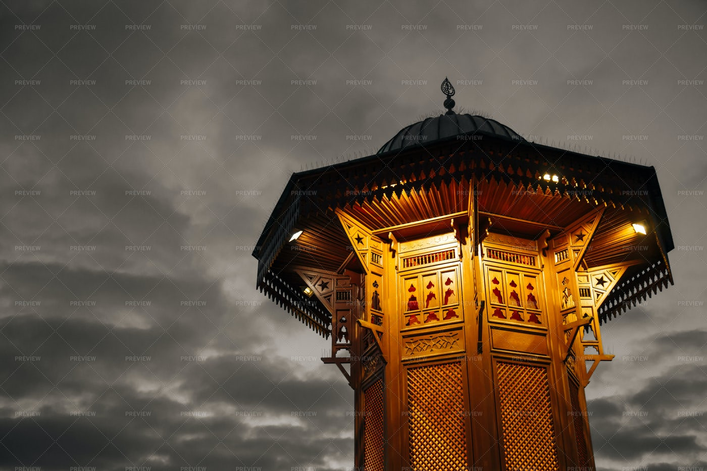 Sarajevo's  Fountain: Stock Photos