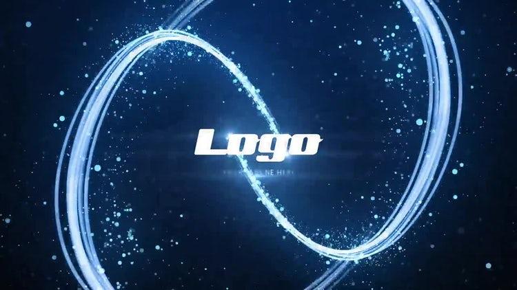 Light Streak Particles Logo: After Effects Templates