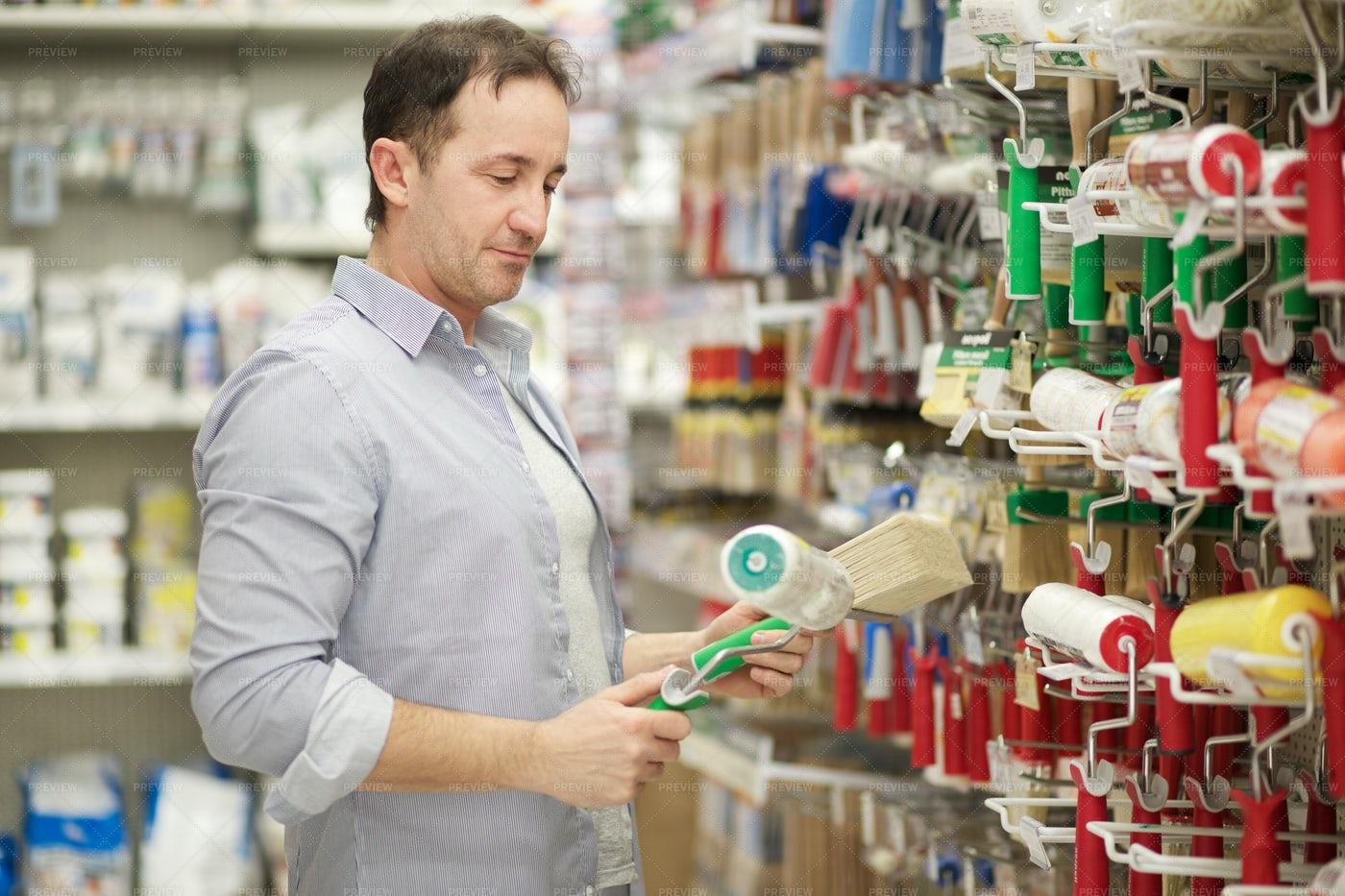 Buying Hardware Supplies: Stock Photos