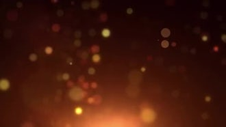 Fiery Particle Glow: Motion Graphics