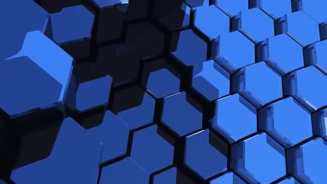 Hexagons Corporate Background: Stock Motion Graphics