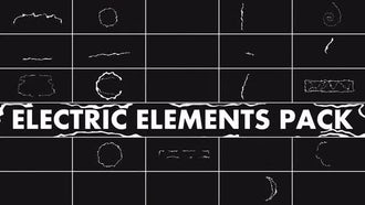Electric Elements Pack: Motion Graphics