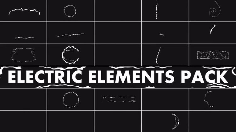 Electric Elements Pack: Stock Motion Graphics