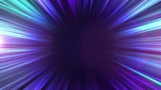 Elegant Blue Circle: Motion Graphics