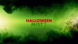 Halloween Mist 2: Stock Motion Graphics
